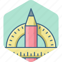 design, pen, stationary, tool, work icon
