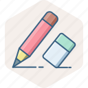 design, edit, pen, stationary, stationery, write, writing icon