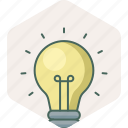 bulb, creative, electric, electricity, idea, light icon