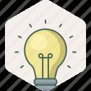 bulb, creative, idea, electric, electricity, light