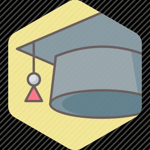 cap, college, education, hat, knowledge, topper, university icon