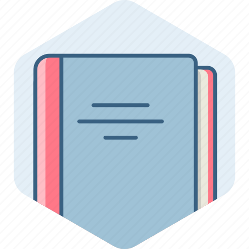 address, book, contacts, education, library, notebook icon