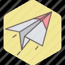 paper, plane, airplane, post, send