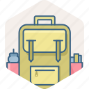 bag, education, knowledge, learning, school icon
