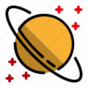 astronomy, education, jupiter, planet, space icon