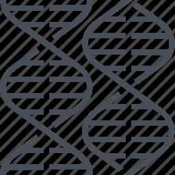 dna, gene, genetic, genome, helix, molecule icon