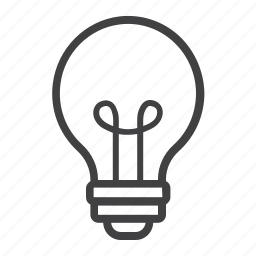 bulb, business, education, idea, innovation, lamp, light icon