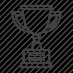 award, champion, cup, reward, sport, trophy, winner icon