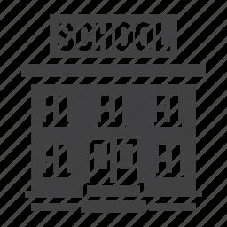 architecture, building, college, education, learn, school, teach icon