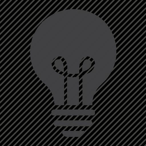 bulb, business, education, idea, innovation, lamp, light icon