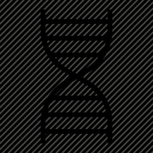 biology, dna, education, school, science icon