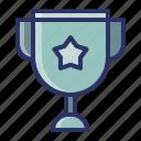 achievment, champion, education, school, trophy icon