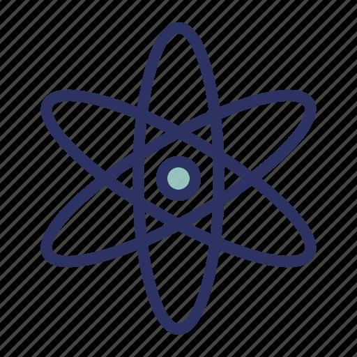 atom, education, experiment, school, science icon