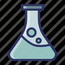 education, laboratory, school, science, study icon