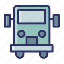 bus, education, school, transport icon