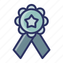 achievment, badge, champion, education, school icon