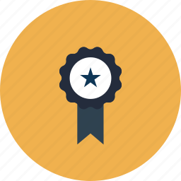 achievement, award, banner, college, education, equipment, item, learning, medal, object, ribbon, school, sign icon