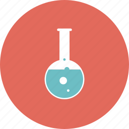 bulb, chemistry, college, education, equipment, experience, flask, glass, item, lab, laboratory, learning, object, practice, research, school, test icon