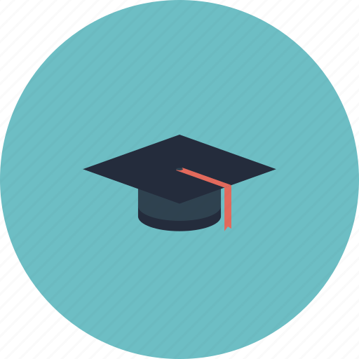 cap, college, education, equipment, graduate, graduation, hat, item, learning, magister, object, school, student icon