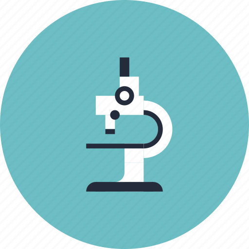 chemistry, college, education, equipment, item, learn, learning, microscope, object, research, school, study icon