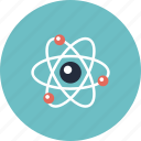 atom, atomic, college, education, equipment, innovation, item, learning, molecule, object, physics, school, science icon