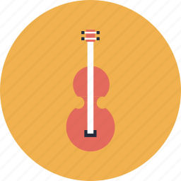 college, education, equipment, instrument, item, learn, learning, music, object, school, study, violin icon