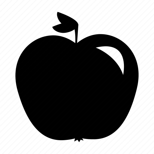 apple, education, fruit, healthy, lunch, science, snack icon