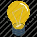 bright idea, creative idea, creativity, innovation, light bulb icon