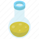 chemical flask, chemistry, conical flask, flask, lab apparatus, lab equipment