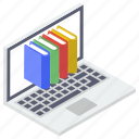 digital learning, distance learning, e book, e learning, online education icon