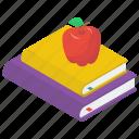 food education, food learning, fruitful education, healthy education, healthy learning icon