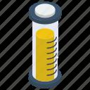 beaker, chemical beaker, chemistry, erlenmeyer flask, lab apparatus, lab equipment icon