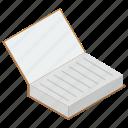 bookmark, knowledge, novel, open book, textbook