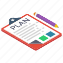 action plan, checklist, list, plan list, todo list, worksheet icon