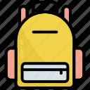 backpack, bag, education, school, travel, back bag, learning
