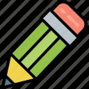 write, pencil, edit, compose, school, stationery, pen