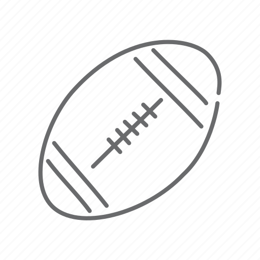 ball, football, game, play, rugby, sport icon