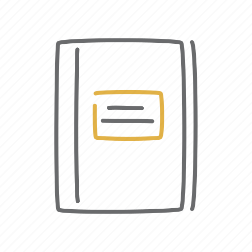 notebook, notepad, notes icon