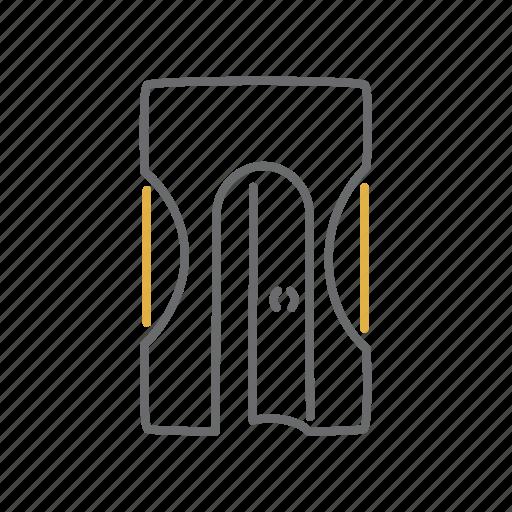 Sharpener, pencil, draw, office icon
