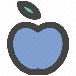 apple, diet, food, fruit, healthy diet, healthy food icon