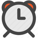 alarm clock, alert, clock, time keeper, timepiece, timer, watch icon