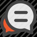 chat balloon, chat bubble, comments, communication, speech bubble, talk