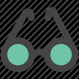 eyeglasses, eyewear, glasses, shades, specs, spectacles icon