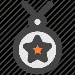 achievement, medal, position medal, prize, reward, victory icon