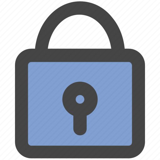 lock, locked, padlock, privacy, safety, secure icon