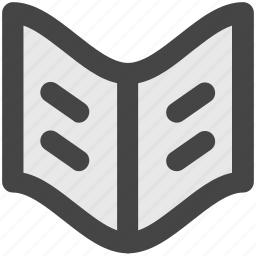book, encyclopedia, guide, literature, open book, schoolbook, wikipedia icon