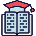 book, education, learn, lesson, reading, teaching icon