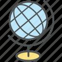 cartography, earth, globe, map, planet, school globe, table globe, world