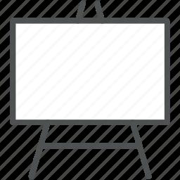 blackboard, chalk board, classroom, education, school, white board, writing board icon