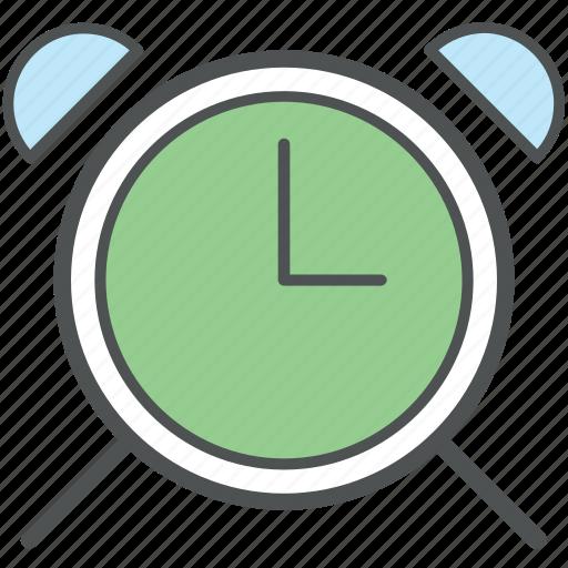 alarm clock, alert, clock, time keeper, timepiece, timer, watch icon